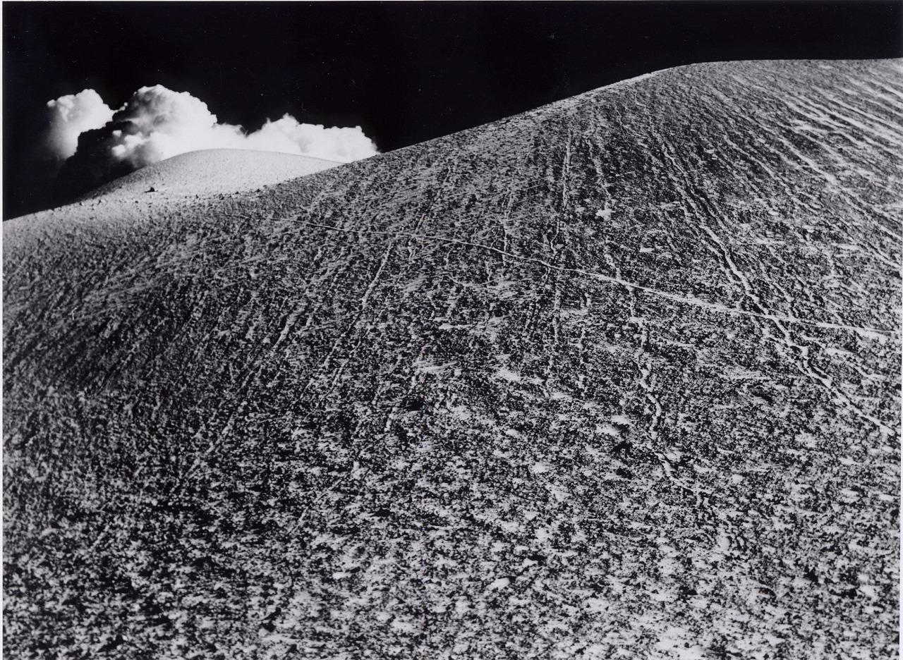 【初冬の浅間 黒斑山の中腹より】1940年12月1日撮影