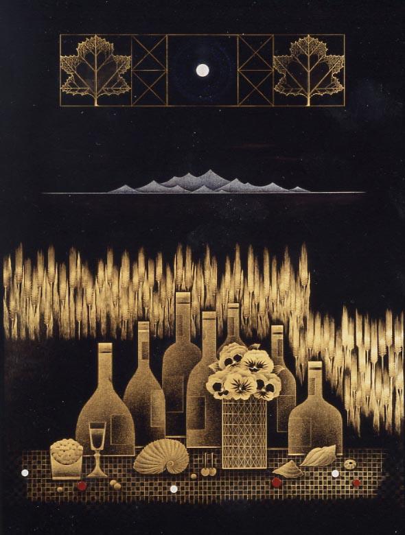 高橋節郎《麦丘》1989年